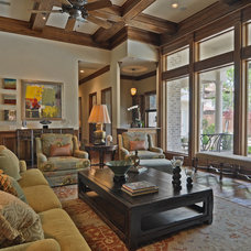 Traditional Family Room by Total 360 Interiors