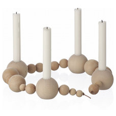 Eclectic Candles And Candle Holders by ferm LIVING