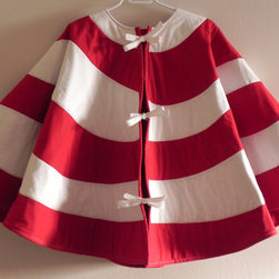 Seuss Christmas Tree Skirt by Good Wishes Quilts - This tree skirt is absolutely adorable in candy cane stripes of red and white.