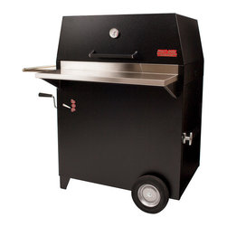 Hasty-Bake - Hasty-Bake Legacy 131 Powder Coated Charcoal Grill - The original Hasty-Bake design and our most popular model, the Legacy is the perfect size for larger families or anyone who truly enjoys entertaining. This unit offers all the standard Hasty-Bake features, and its 523 square inches of cooking space provide ample room to smoke a ham and a turkey-at the same time!   Model 131 (Powder-Coated Finish) - Best Seller!