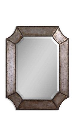 Rustic Bronze Aluminum Mirror - Rustic Bronze Aluminum Mirror