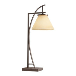 Kichler - Kichler Other Desk Lamp in Bronze Brown - Shown in picture: Desk Lamp 1Lt. Fluorescent in Painted Metal