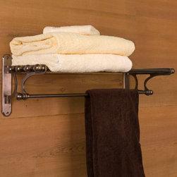 Solid Bronze / Bronze Finish Items - Solid Bronze Towel Rack, Signature Hardware