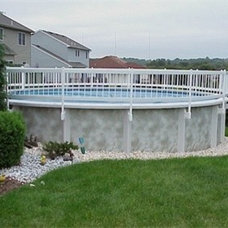Above Ground Resin Pool Fencing