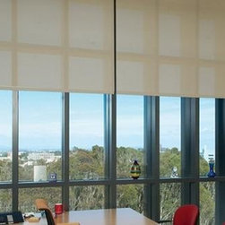 Budget Blinds Commercial Solutions - BB Commercial Solutions (BBCS) has a full line of solar shades and solar screens for commercial use. 866.279.3253