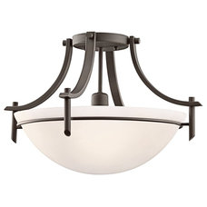 Contemporary Flush-mount Ceiling Lighting by Arcadian Home & Lighting