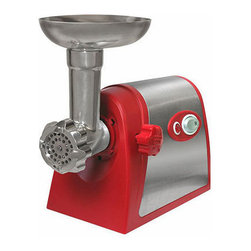 Weston - Weston Electric #5 Deluxe Meat Grinder with Tomato Strainer - Meat grinder is a must-have for the well appointed kitchen #5 meat grinder includes a tomato strainer Specialty appliance runs on a powerful 200-watt Motor (120V)