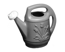 Bloem - Bloem 2 Gallon Watering Can w/ rotating nozzle Peppercorn T621360, 12 pack - Features a rotating nozzle