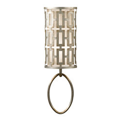 Allegretto Silver Sconce, 787450ST