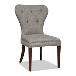 Hooker Furniture - Decorator Chair - Dining Side Chair 36 - Set of 2 - White glove, in-home delivery!  For this item, additional shipping fee will apply.  Fabric: Arcadia Metal  Set of two chairs.