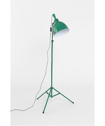 Eclectic Floor Lamps by Urban Outfitters