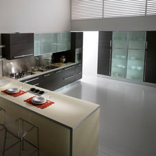 Contemporary Kitchen Cabinetry by Italian Kitchen and Bath