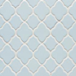 Vibe Morrocan Mosiac in Powder Blue - Ceramic and Terracotta