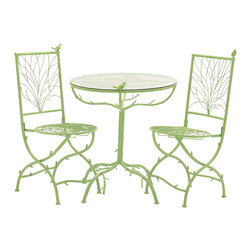 The Different Metal Bistro, Set of 3 - Description: