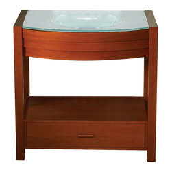 Decolav - Decolav Vanity by Decolav - 5118T in Cherry - Decolav Vanity by Decolav - 5118T in Cherry