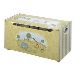 Teamson Design - Teamson Kids Alphabet Hand Painted Kids Toy Chest/Box - Teamson Design - Toy Boxes and Chests - W3834A. This is a hand painted alphabet/animal themed children's toy chest. Now you can organize your child's toys with a beautifully themed toy chest!
