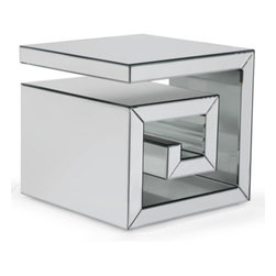 Eternal Cube End Table - Pick up the Eternal Cube table, squared. Two for the bedroom and two for the living room!
