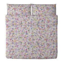 RENATE FLORA Duvet cover and pillowcase(s) - Duvet cover and pillowcase(s), multicolor