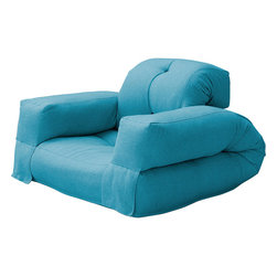 Ark Group/Bocasa - Ark Group/Bocasa Hippo Convertible Futon Chair -