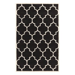 Artistic Weavers - Artistic Weavers Transit Piper (Black, White) 8' x 11' Rug - This Hand Tufted rug would make a great addition to any room in the house. The plush feel and durability of this rug will make it a must for your home. Free Shipping - Quick Delivery - Satisfaction Guaranteed