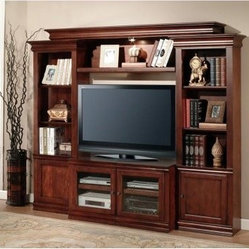 Parker House Amor Premier Expandable Wall Entertainment Unit - The Parker House Amor Premier ...