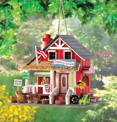 eclectic birdhouses by American Home Decorating Superstore