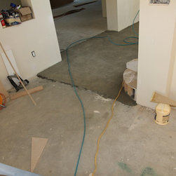 Residential new construction - Beverly Hills - First floor concrete