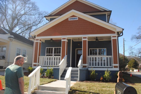 Exterior paint color for craftsman home - Craftsman home exterior colors ...