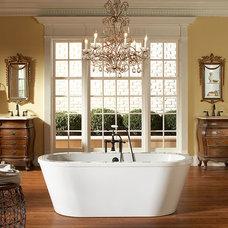 "Traditional Bathtubs Simeon Harbor's  ""Brighton"" Acrylic Bath"
