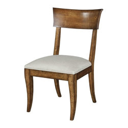 EuroLux Home - New Dining Side Chair  Normandy Finish Set 6 - Product Details