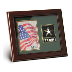 Go Army Portrait Picture Frame - 10-Inch by 12-Inch Military Portrait Picture Frame