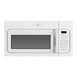 GE Artistry Series 1.6 Cu. Ft. Over-the-Range Microwave Oven (model # AVM4160DFW - Features: