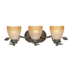 "Designers Fountain - Designers Fountain 95603 Timberline Rustic / Country 24"" Bathroom / Vanity Light - Features:"