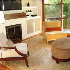 Modern Living Room by Suzette Sherman Design