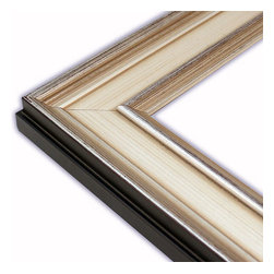 The Frame Guys - Bristol Silver Picture Frame-Solid Wood, 10x20 - *Bristol Silver Picture Frame-Solid Wood, 10x20