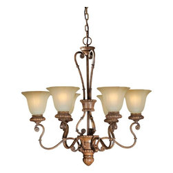 Talista - Talista Chandeliers 6-Light Rustic Sienna Chandelier with Umber Glass Shade - Shop for Lighting & Ceiling Fans at The Home Depot. The Burton Collection supplied by CLI features a wide variety of classic fixtures. If you are looking for a sensible way to dress up a room there is no better choice than this 6-Light Chandelier in a Rustic Sienna Finish complimented by Shaded Umber Glass. From the modest chandeliers to the more rustic outdoor lighting the Burton Collection will add a charming accent to any application.