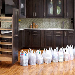 Pullout Wood Pantry -