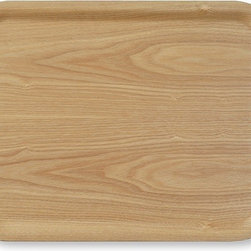 MUJI Ash Wood Serving Tray - The simplicity and beauty of the natural material of this ash wood tray is perfect for a minimalist.