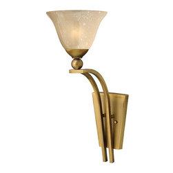Hinkley Lighting - Hinkley Lighting 4670BR Bolla Brushed Bronze Wall Sconce - Hinkley Lighting 4670BR Bolla Brushed Bronze Wall Sconce