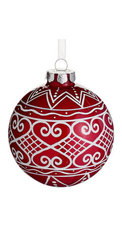 Silk Plants Direct - Silk Plants Direct Filigree Pattern Glass Ball Ornament (Pack of 6) - Pack of 6. Silk Plants Direct specializes in manufacturing, design and supply of the most life-like, premium quality artificial plants, trees, flowers, arrangements, topiaries and containers for home, office and commercial use. Our Filigree Pattern Glass Ball Ornament includes the following:
