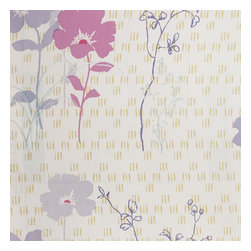 Blancho Bedding - Wisteria Love - Self-Adhesive Wallpaper Home Decor Roll - Wallpaper can transform a room quickly and easily. You can wallpaper all walls, the ceiling or create a large over scaled piece of artwork by framing it. It would be perfect for nearly any room in the house: your living room, bedroom, bathroom, etc. The wallpaper are made of a high quality, waterproof, and durable vinyl and will stick to any smooth surface. It can be washed with gentle pressure and a soft damp cloth Strippable. You can add your own unique style in minutes! This wallpaper is a perfect gift for friend or family who enjoy decorating their homes.