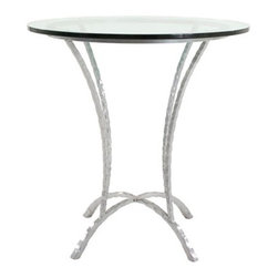 "Hudson 36"" Round Pub Table (Counter Height) by Charleston Forge - Dimensions:"