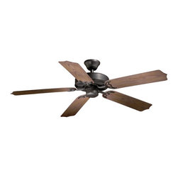 """Vaxcel Lighting - Vaxcel Lighting FN52298 Medallion 52"""" 5 Blade Outdoor Ceiling Fan with Reversibl - Features:"""