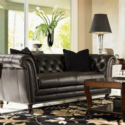 Westchester Leather Sofa, Lexington -