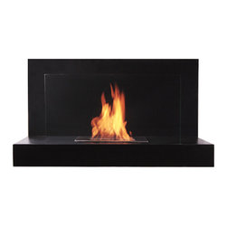 "Bioflame Lotte 12,000BTU 13"" Burner Stainless Steel Wall Mounted Fireplace - 32974001 Features: - 12,000BTU or 3.5Kw/h (heats on average 40m2 or 430ft2)- Stainless Steel Construction- 8mm Tempered Glass- 13"" Burner- H 19.75"" (502mm) W 35.4"" (900mm) D 10.0"" (255mm)FuelWant to know something sweet about the ethanol fuel used in Bio Flame fireplaces? It's all based on sugars!That's right, the Bio Flame ethanol fuel is so environmentally friendly that it is created through a fermentation process of sugars, including those from sugar cane, corn, beets, and potatoes. These natural, all-reable resources work together to create an ethanol fuel source that provides not only heat, but a beautiful, dancing flame, as well.Some of the additional benefits of using the Bio Flame ethanol fuel include:Environmentally friendly. Ethanol fuel is all-natural and made from reable resources. This means that you are not cutting down valuable trees that take much longer to regenerate.Better breathing. There is no air pollution with the Bio Flame ethanol fuel. This means that you, as well as everyone else, help to keep chemicals and toxins from being released into the air. You will breathe better in your home, and everyone else benefits from the reduction of pollutants, as well. There's no odor or smoke to worry about, either, providing you with a safe flame.Cleaner source. Ethanol fuel creates a clean heat source, eliminating the need to worry about cleaning soot or ash. Cleaning the Bio Flame fireplace is a breeze.Super simple. The ethanol fuel used in the Bio Flame fireplace is simple to use. Within seconds, you will have it refilled, never having to worry about spills or trekking out into the cold weather for another log.The Bio Flame environmentally friendly fireplaces use ethanol fuel, because it provides a better heat choice for you, and for everyone else. You never compromise on having a beautiful-looking fireplace, warmth, and a beautiful flame. Ethanol fuel provides all the things you want, and nothing you don't. When it comes to having a fireplace, it doesn't get much sweeter than that!Benefits of an Ethanol Fireplace When it comes to purchasing a fireplace, you have a lot of options  available to you. But that doesn't mean they are all going to give you  great benefits. Sure, they will all provide you with some heat (or at  least should) but, for some fireplaces, that is where the benefits both  begin and end. When you choose a Bio Flame environmentally friendly  fireplace, you get a list of benefits, some in areas you may not even  have thought about! Here are some of the benefits you will get by using a Bio Flame ethanol fuel fireplace:No heat loss. With a traditional fireplace that has  a chimney, you will lose 70 percent of the heat, and will only get to  warm your home with 30 percent. With a Bio Flame ethanol fuel fireplace,  however, your home will get 100 percent of the   heat. There is no  chimney, so all the heat stays in the home.Reable resources. Ethanol fuel that is used in  the Bio Flame fireplace is made from sustainable resources. The ethanol  fuel is made from fermenting sugars, including the use of cane sugar,  beets, potatoes, and corn. Our oxygen-producing trees never get cut  down, just to be burned up.No air pollution. Traditional fireplaces put a lot  of pollutants into the air, including chemicals, smoke, and toxins. The  Bio Flame ethanol fireplace burns clean, so you never have to worry  about any air pollution from it, nor about any ash, soot, or smoke.Beautiful appearance. Many people fall in love with  the beautiful, stylish designs in which the Bio Flame ethanol  fireplaces are available. They can make any home or office look  top-notch.All natural. The ethanol fuel that is used in the  Bio Flame environmentally friendly fireplace is all-natural. Made from  plant-based materials, it is harmless, and free of toxins.Super easy. Not only is the ethanol fireplace  simple to use, but the ethanol fuel takes only seconds to refill.  Setting up the ethanol fireplace for the first time is also a breeze,  with most people having it ready to use within 30 minutes. Obtaining  ethanol fuel is also a much easier process than trying to obtain wood to  burn.Custom design options. Bio Flame will consider  custom-design options, so if you have something in mind that you want,  let them know. Chances are, they can help meet your needs.From retaining more heat to being environmentally friendly and looking  great, the ethanol fuel fireplace comes with a host of benefits. These  are all things to consider and compare when deciding which fireplace is  the right one for you. We are confident that you won't find any other  fireplace that comes close to offering all these benefits! 4001b"