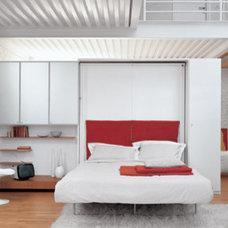 Contemporary Beds by Dayoris Custom Woodwork