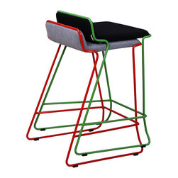 Bleecker Stools by Nuans Design - A stylishly modern wire design, Bleecker stools are also stackable which makes them ideal for those who do a lot of large-scale entertaining.