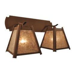Steel Partners Inc - Double Sconce - CRESTONE - Every piece we create is unique — handcrafted at our factory in Chehalis, Washington, USA. Due to this, lead times are 2 to 4 weeks.