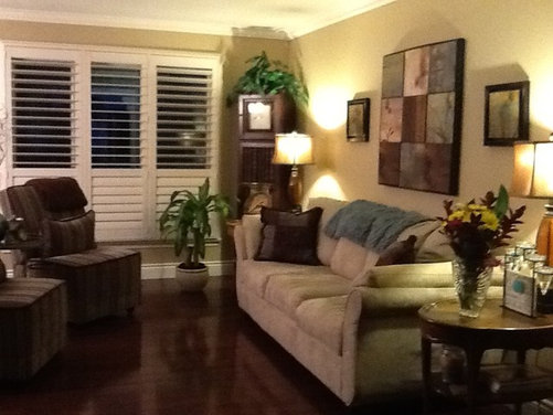 Thinking of painting window wall a contrasting color - Home interior wall color contrast ...