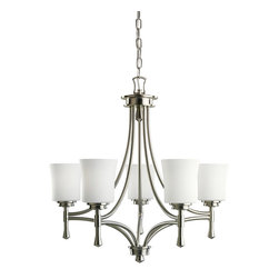 Kichler Lighting - Kichler Lighting 2120NI Wharton Brushed Nickel 5 Light Chandelier - Kichler Lighting 2120NI Wharton Brushed Nickel 5 Light Chandelier